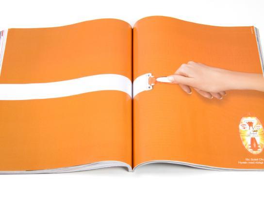 BIC Print Ad -  Hand