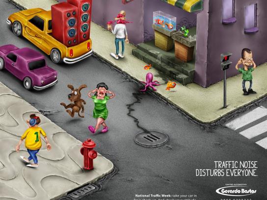 Gerardo Bastos Print Ad -  Noise