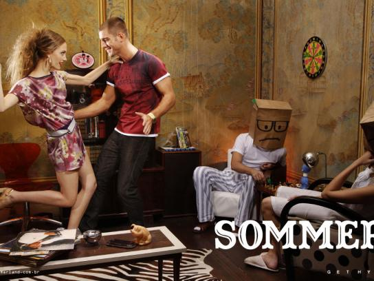 Sommer Print Ad -  Paper bags, 1