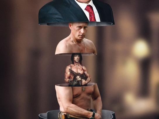 Sonntags Zeitung Print Ad -  Putin