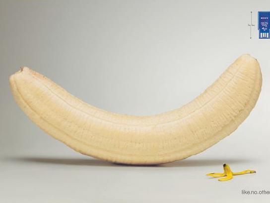 Sony Print Ad -  Banana