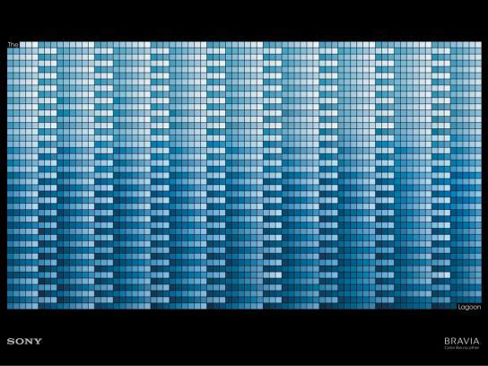 Sony Print Ad -  Blue