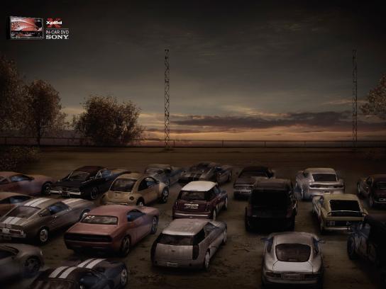 Sony Print Ad -  Autocinema