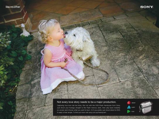 Sony Print Ad -  Love