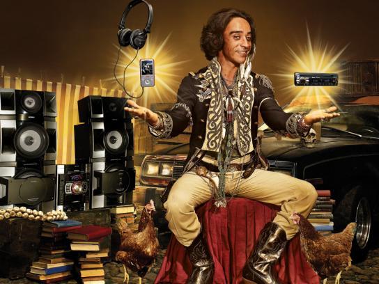 Sony Print Ad -  Music