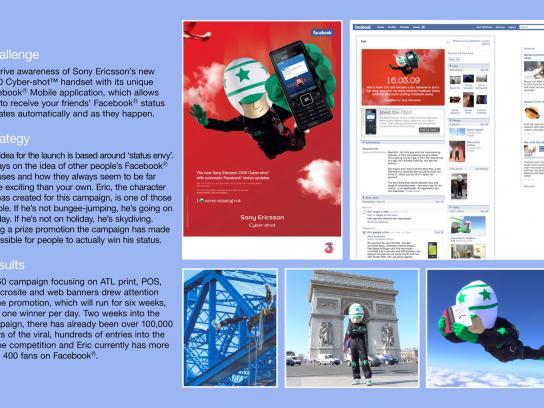 Sony Ericsson Ambient Ad -  Status envy