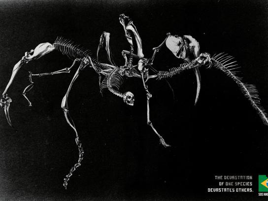SOS Mata Atlântica Print Ad -  Skeleton, 1