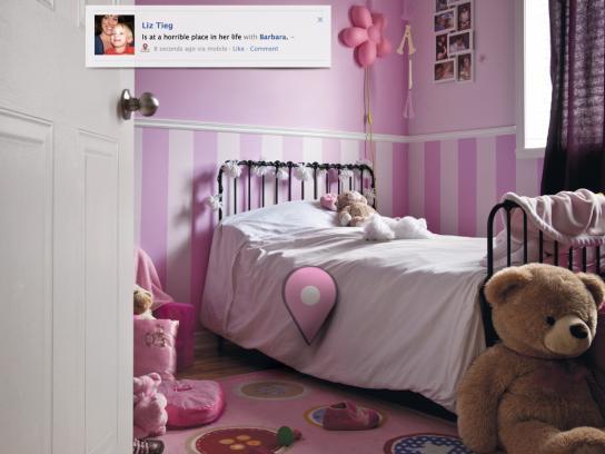 SOS Violence Conjugale Print Ad -  Bedroom