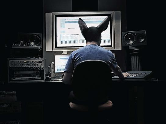 Soundtrax Print Ad -  Ears, 1