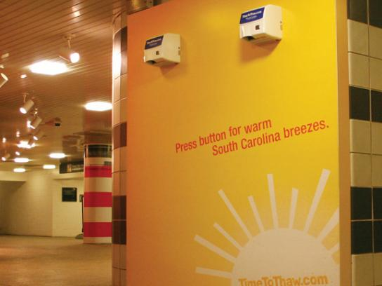 South Carolina Tourism Ambient Ad -  Hand dryers