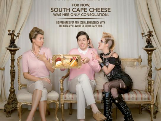 South Cape Print Ad -  Goth