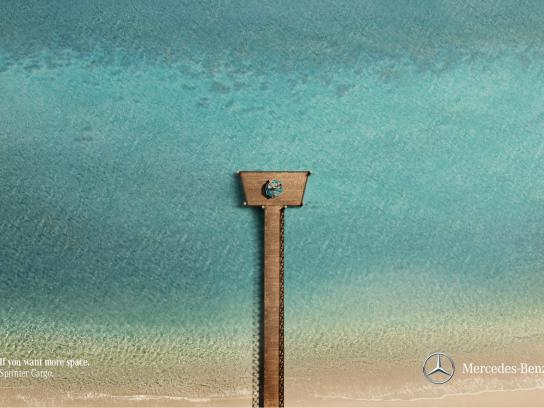 Mercedes Print Ad -  Pier