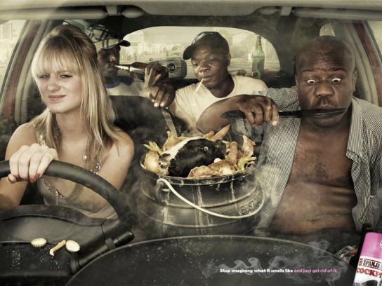 Spanjaard Print Ad -  Smoke
