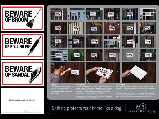 SPCA Direct Ad -  Signs