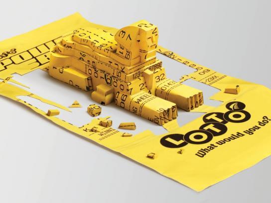 Lotto Print Ad -  Sphinx