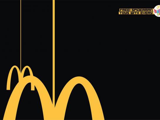 McDonald's Print Ad -  Spiderman