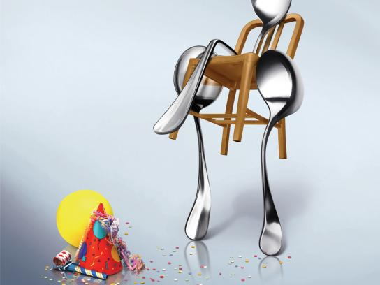 Post Honey Bunches Print Ad -  Spoon, 2
