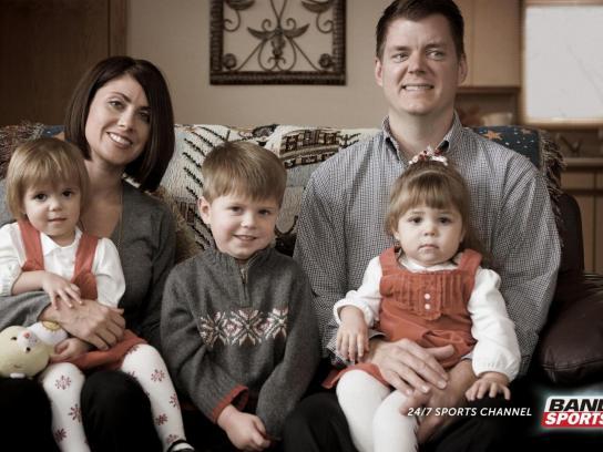 BandSports Print Ad -  Family Portrait