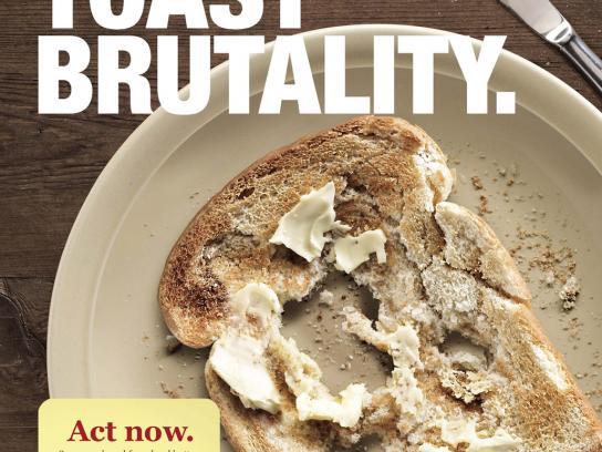 Spreadables Print Ad -  Toast