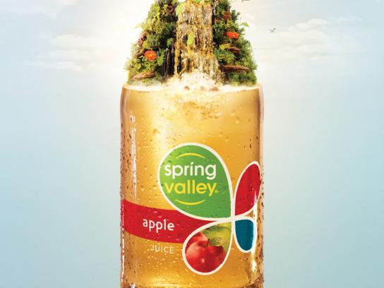 Spring Valley Print Ad -  Apple