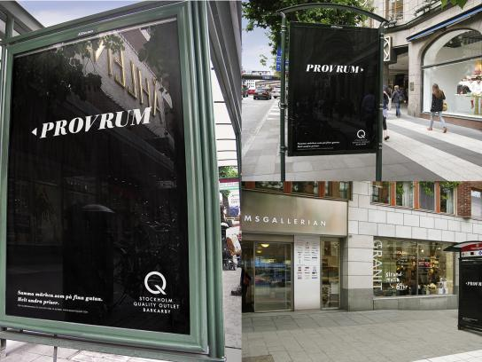 Stockholm Quality Outlet Outdoor Ad -  Fitting Room