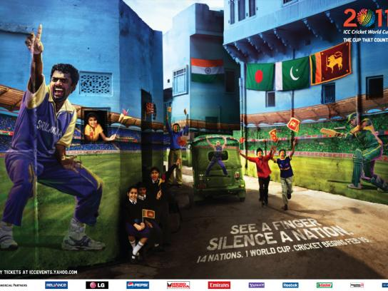 ICC Cricket World Cup Print Ad -  Sri Lanka