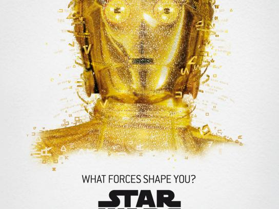Star Wars Outdoor Ad -  The Exhibition, C-3PO