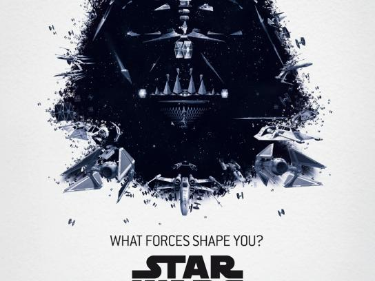Star Wars Outdoor Ad -  The Exhibition, Darth Vader