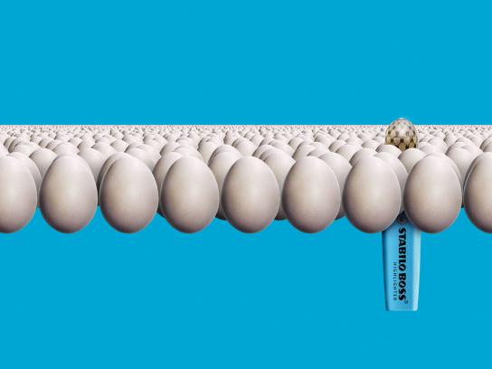 Stabilo Print Ad -  Fabergé egg