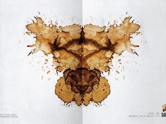 Kaffeine Print Ad -  Virus