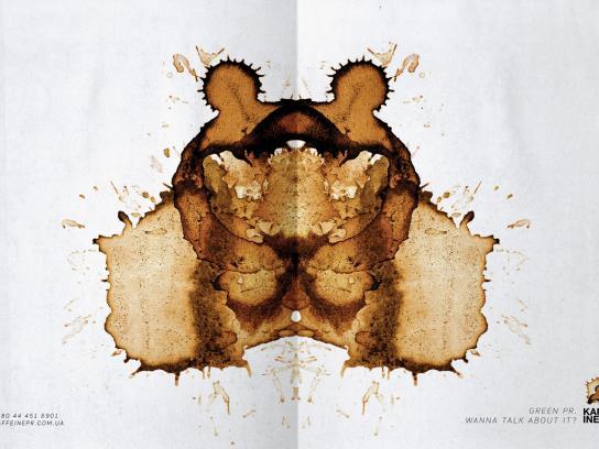 Kaffeine Print Ad -  Environment