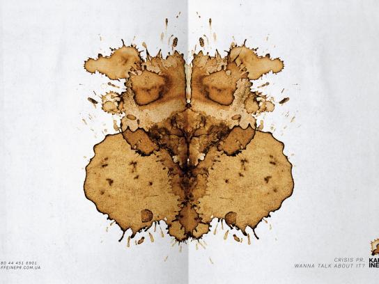Kaffeine Print Ad -  Dog