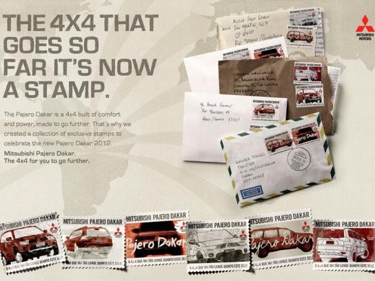 Mitsubishi Direct Ad -  Stamps