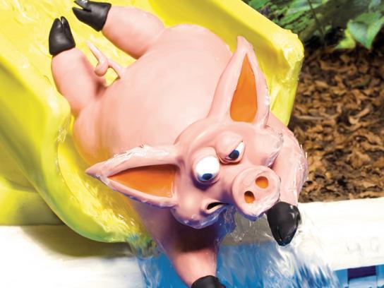 Stamyl Print Ad -  Pig