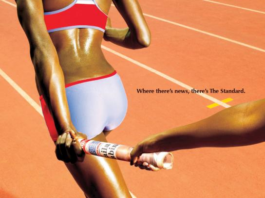 The Standard Print Ad -  Sport