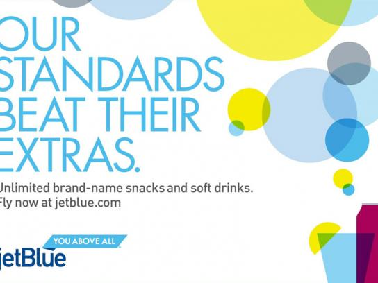 JetBlue Print Ad -  Standards