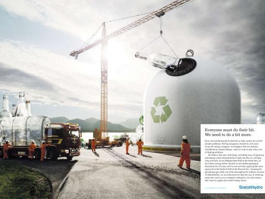 StatoilHydro Print Ad -  Crane