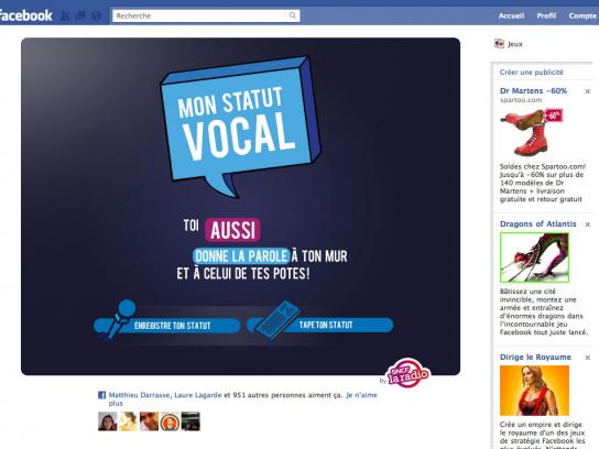 SNCF Webradio Digital Ad -  My vocal status