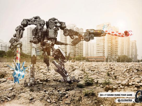 SteelSeries Print Ad -  Robot