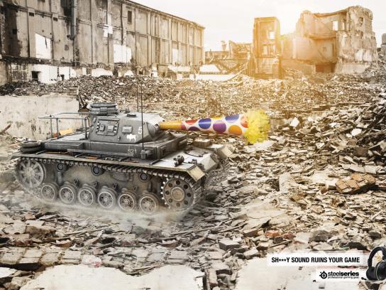 SteelSeries Print Ad -  Tank