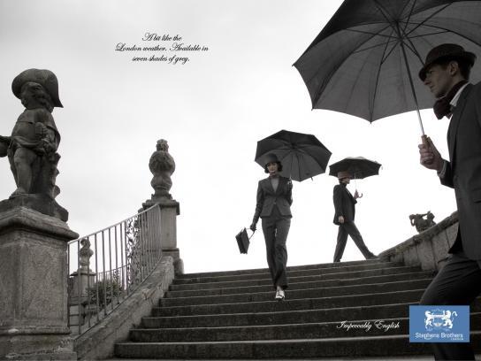 Stephens Brothers Print Ad -  Grey