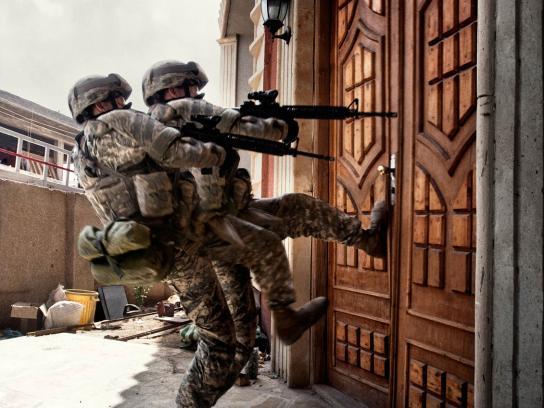 Stern Print Ad -  Soldier