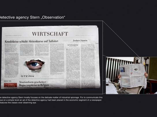 Stern Print Ad -  Observation