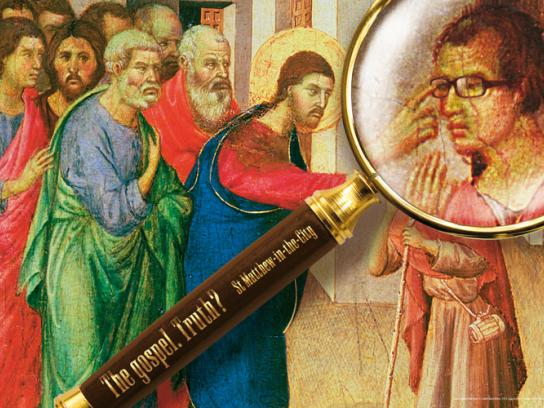 St Matthew-in-the-City Print Ad -  Glasses