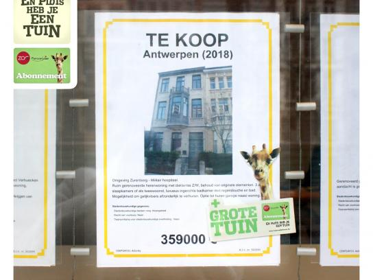 Antwerp Zoo Print Ad -  Poster