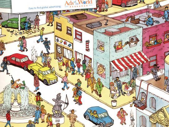 Ads of the World Print Ad -  Stick man