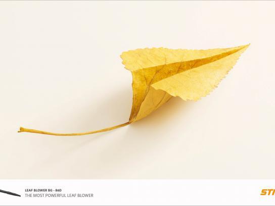 Stihl Print Ad -  Airplane, 1