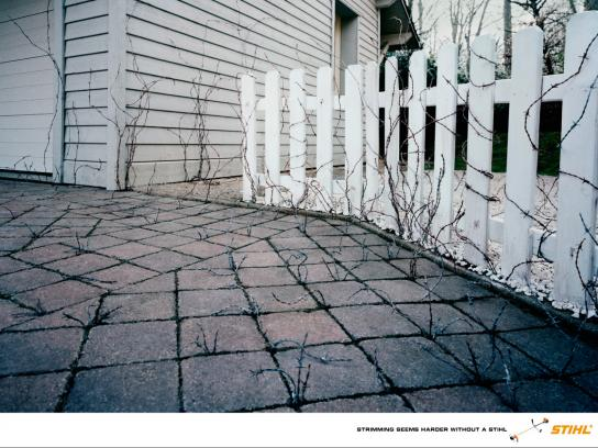 Stihl Print Ad -  Strimming