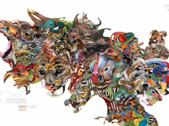 Corbis Print Ad -  Animals