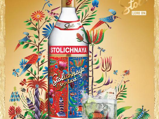 Stolichnaya Print Ad -  4 Elements